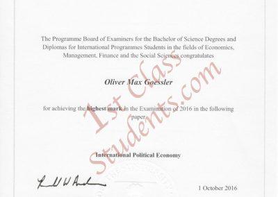 IPE Prize